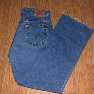 LEVI'S 515 FLARE JEANS
